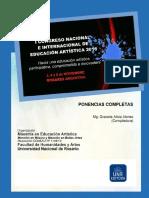 I Congreso de Educación Artística Libro Ponencias Completas