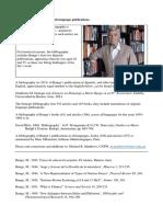 Bunge Cv Publications English