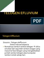 Telogen Efluvium