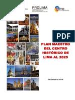 Plan Maestro del Centro Historico de Lima al 2025.pdf