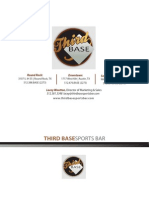 Third Base Catering & Events
