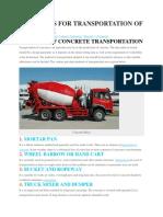 9-METHODS-FOR-TRANSPORTATION-OF-CONCRETE.docx