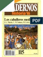 Cuadernos De Historia 16 115 Los Caballeros Medievales 1985.pdf