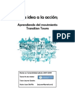 De la idea a la acción - Aprendiendo del Movimiento Transition Towns - Juan Del Río