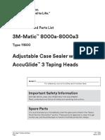 8000a Tape Machine Manual