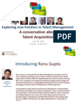 Talent Acquisition Webinar Sept 30, 2010 v5