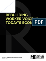 Rebuilding Worker Voices In Today's Economy