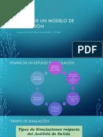 Ejercicio 1. Etapas de Modelo de Simulación