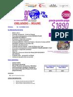 1.Vamos Por Más!!! Marathon Miami I 4n-5d I Cupos Limitados
