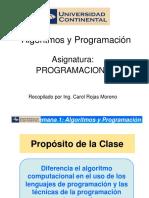 PROGRAMACION I 1Algoritmos y Programacion.pptx