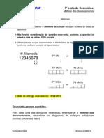 1ª LISTA DE EXERCICIOS - MÉTODO DOS DESLOCAMENTOS.pdf