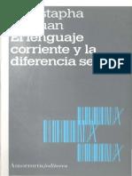 Safouan - El Lenguaje y la Diferencia Sexual.pdf