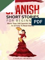Charles Mendel-Spanish Short Stories for Beginners