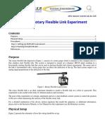 Setup of Rotary Flexible Link