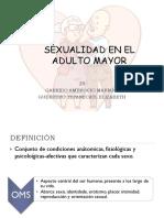 sexualidad del adulto mayor