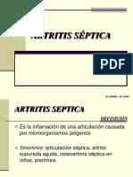 artritis septica