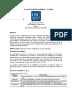 PRUEBAS CUALITATIVAS DE ALDEHÍDOS Y CETONAS