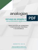 Estudio Analogías PBA Agosto