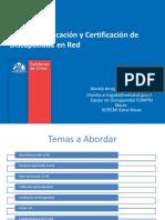 Sistema de Calificacion y Certificacion de Discapacida