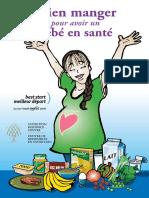 Bien Manger Pour Avoir Un Bébé en Santé