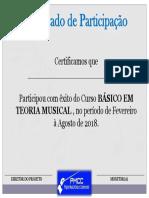 certificado básico