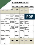 calendario organizador 2018