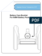 Battery Care Booklet
