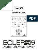 Ecler Hak360 Mixer Sm