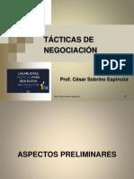 Cuarto Tema - Tácticas de Negociación (1)