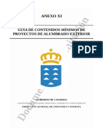 Guía Alumbrado Exterior Canarias