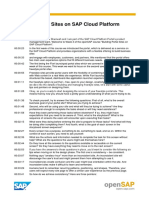 OpenSAP Portal1 Week 3 Transcript