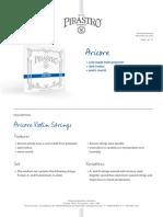 Pirastro catálogo 2015