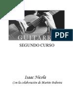 Isaac Nicola Metodo de Guitarra Segundo Curso