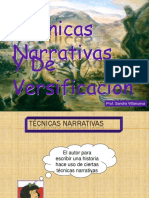 Técnicas narraivas