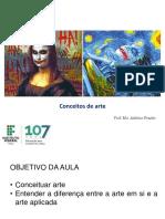ARTES VISUAIS – Conceitos de Arte