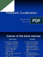 Pediatric Leukemias