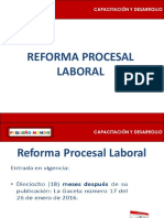 Ley Procesal Laboral