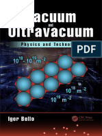 Vacuum and Ultravacuum_ Physics and Technology