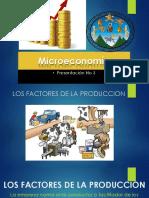 Factores de La Producion