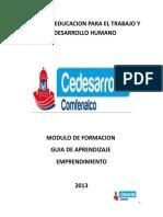 256255726 Modulo y Guia de Aprendizaje Emprendimiento
