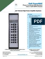 Paradise Datacom Indoor GaN PowerMAX System Datasheet 214578 RevE