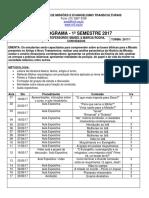 Plano de Ensino Amal 2017