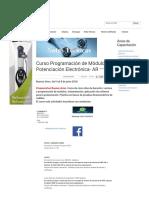 Curso Programación de Módulos y Potenciación Electrónica- AR