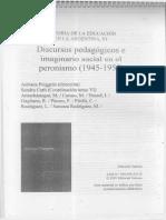 Educacion en Peronismo Puiggros Rodriguez