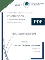 Portafolio de Evidencias Francisco Javier Trejo Rios 2do Parcial