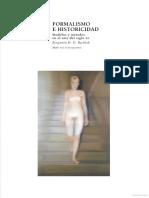 Formalismo e Historicidad. Modelos y Métodos en El Arte Del Siglo Xx Benjamin H. D. Buchloh