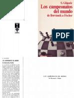 Los Campeonatos del Mundo de Botvinnik a Fischer - Svetozar Gligoric.pdf