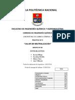 Caratula Laboartorio de Quimica