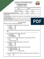 Cuestionario- Cuadernos Atlas