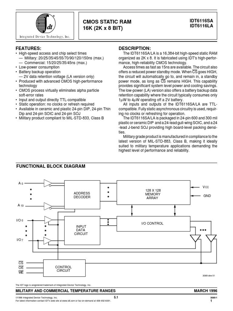 6116.pdf | Cmos | ElectronicsScribd